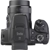 Canon PowerShot SX70 HS - Vue du dessus