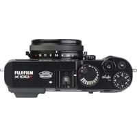 Fujifilm X100F - Vue du dessus