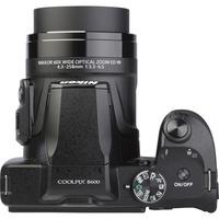 Nikon Coolpix B600 - Vue du dessus