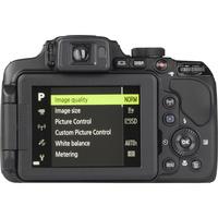 Nikon Coolpix P610 - Vue de dos