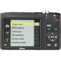 Nikon Coolpix S2900 - Vue du dessus