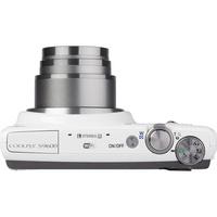 Nikon Coolpix S9600 - Vue du dessus