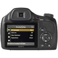 Sony Cyber-Shot DSC-H400 - Vue du dessus