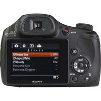 Sony Cyber-Shot DSC-HX350 - Vue de dos