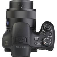 Sony Cyber-Shot DSC-HX350 - Vue du dessus