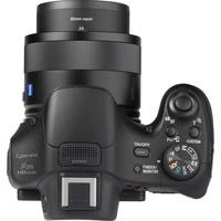 Sony Cyber-Shot DSC-HX400V - Vue du dessus