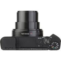 Sony Cyber-Shot DSC-HX80 - Vue de 3/4 vers la droite