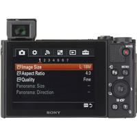 Sony Cyber-Shot DSC-HX80 - Vue de dos