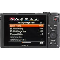 Sony Cyber-Shot DSC-HX99 - Vue de dos