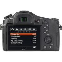 Sony Cyber-Shot DSC-RX10M2 - Vue de dos