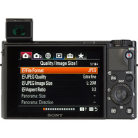 Sony Cyber-Shot DSC-RX100M7 - Vue de dos