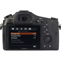 Sony Cyber-Shot DSC-RX10 - Vue de dos