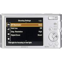 Sony Cyber-Shot DSC-W830 - Vue du dessus