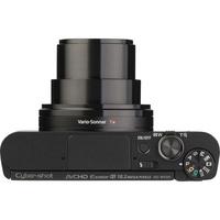 Sony Cyber-Shot DSC-WX500 - Vue du dessus