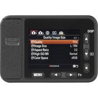 Sony Cyber-Shot RX0 - Vue de dos