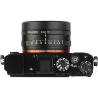 Sony Cyber-Shot RX1RM2 - Vue du dessus