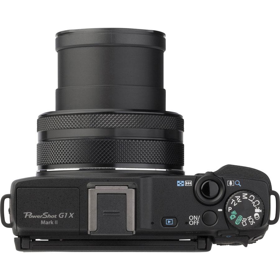 Canon PowerShot G1 X Mark II - Vue du dessus
