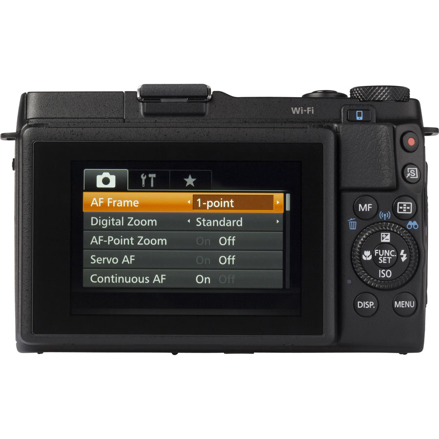 Canon PowerShot G1 X Mark II - Vue de dos