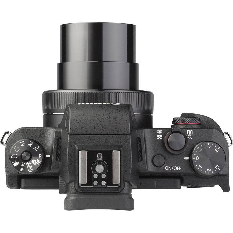 Canon PowerShot G1 X Mark III - Vue du dessus