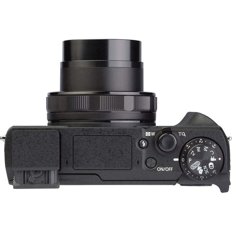 Canon PowerShot G5 X Mark II - Vue du dessus