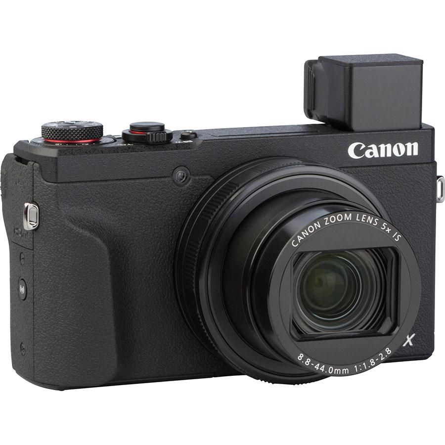 Canon PowerShot G5 X Mark II - Vue de 3/4 vers la droite