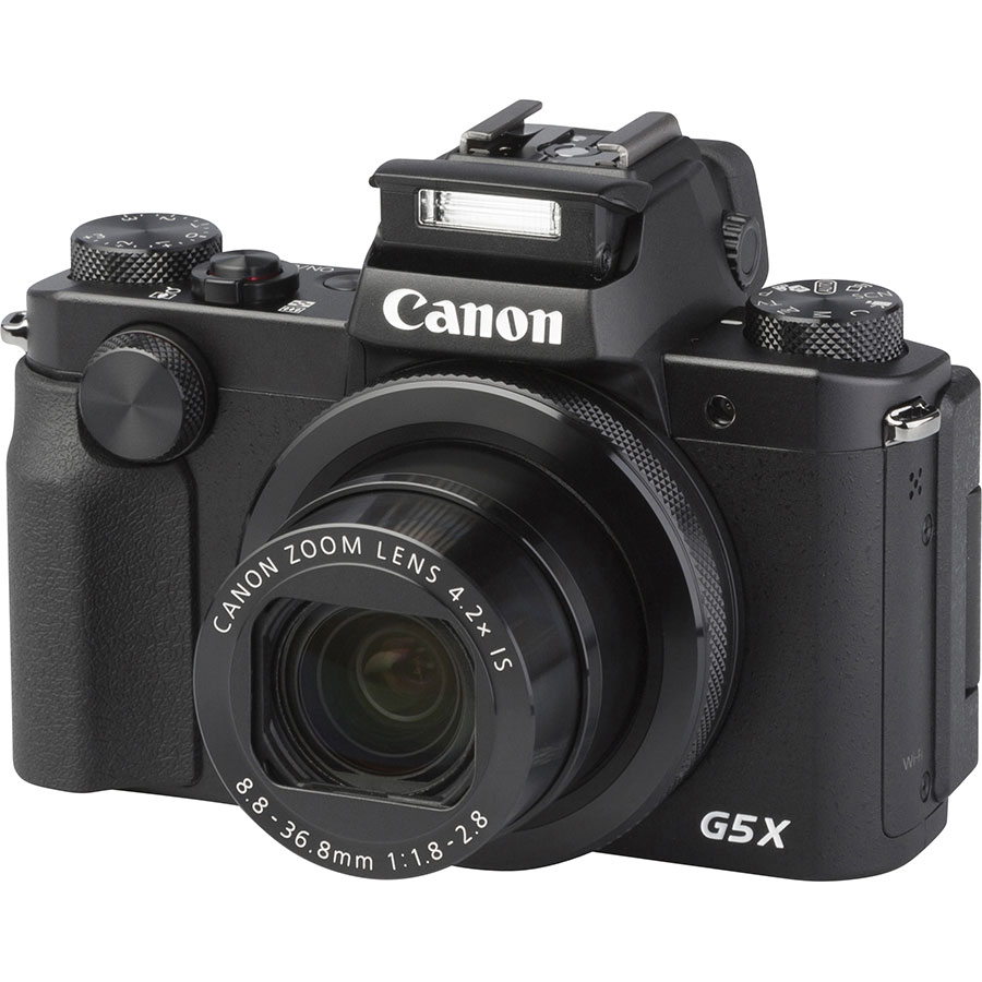 Canon PowerShot G5 X - Vue principale