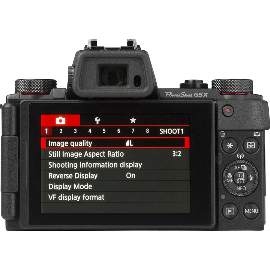 Canon PowerShot G5 X - Vue de face