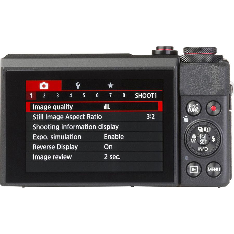 Canon PowerShot G7 X Mark II - Vue de face