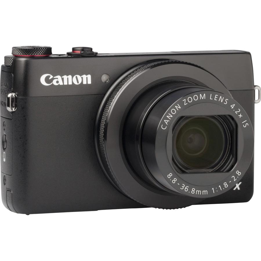 Canon PowerShot G7 X - Vue de 3/4 vers la droite