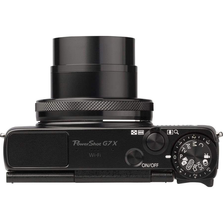 Canon PowerShot G7 X - Vue du dessus