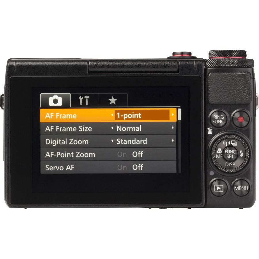 Canon PowerShot G7 X - Vue de dos