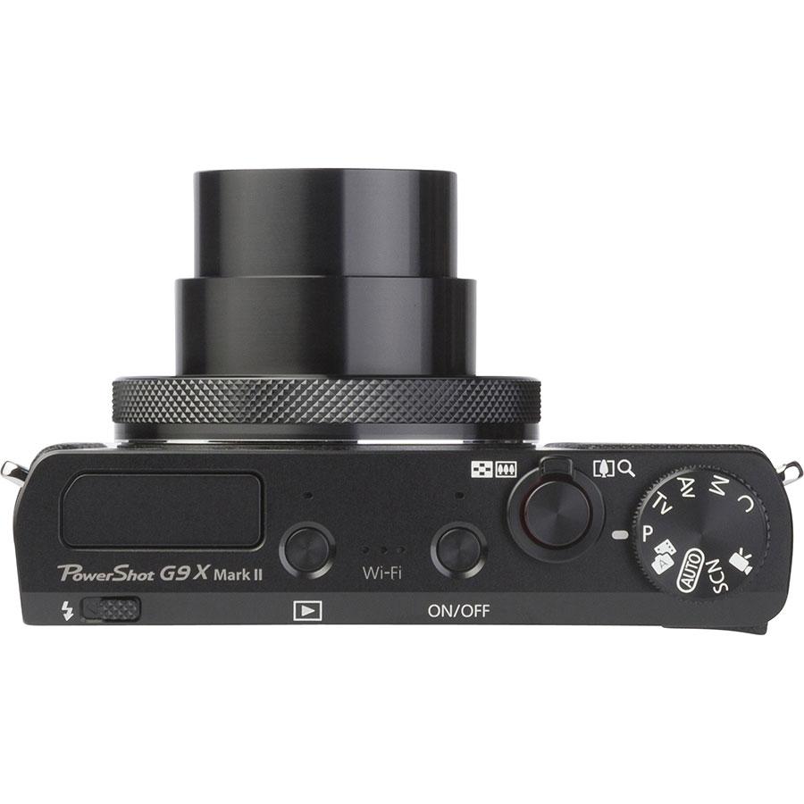 Canon PowerShot G9 X Mark II - Vue du dessus