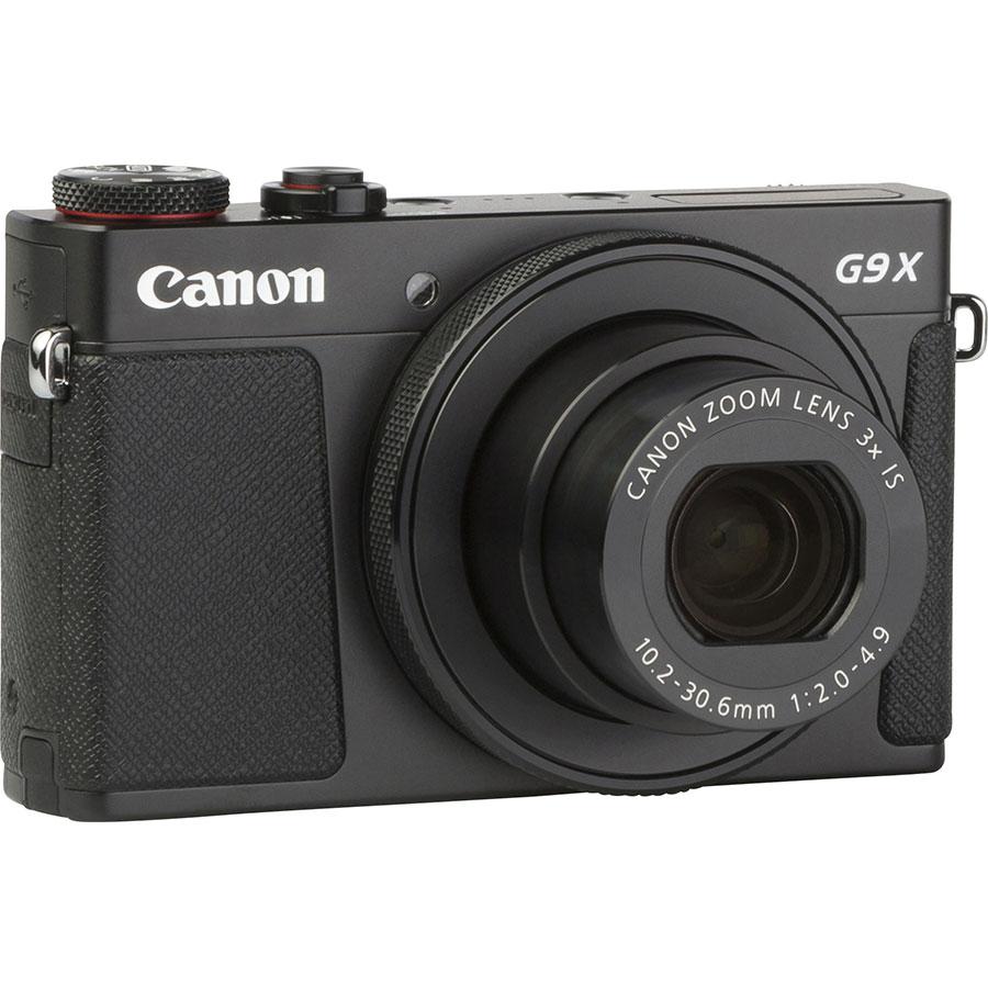 Canon PowerShot G9 X Mark II - Vue de 3/4 vers la droite