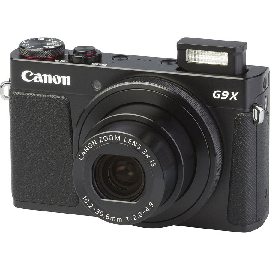 Canon PowerShot G9 X - Vue principale