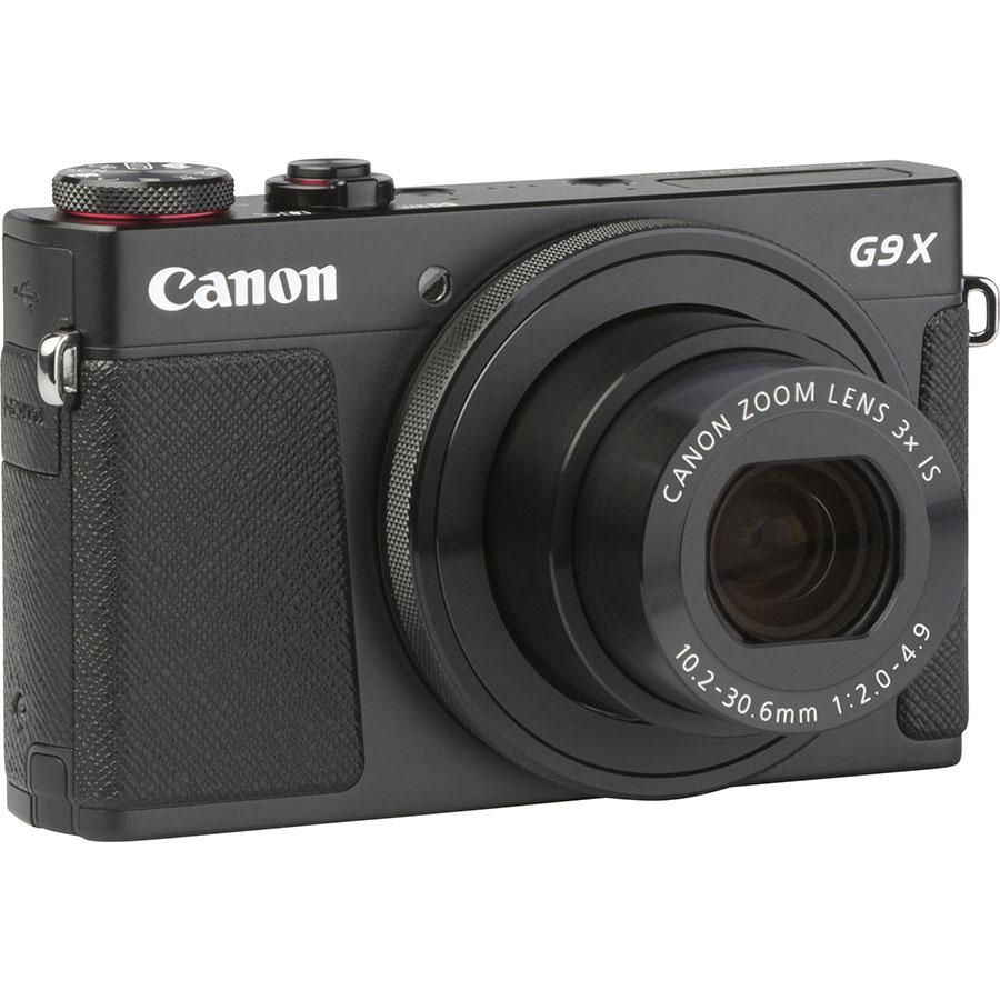 Canon PowerShot G9 X - Vue de face