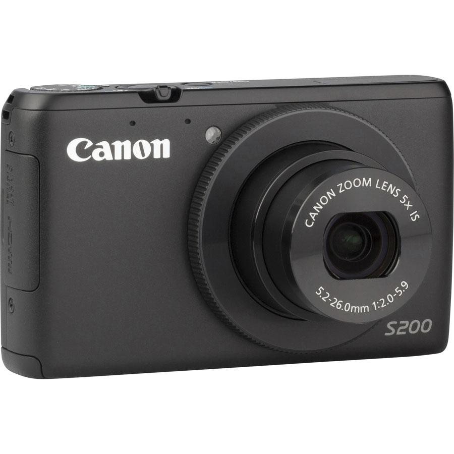 Canon PowerShot S200 - Vue de 3/4 vers la droite