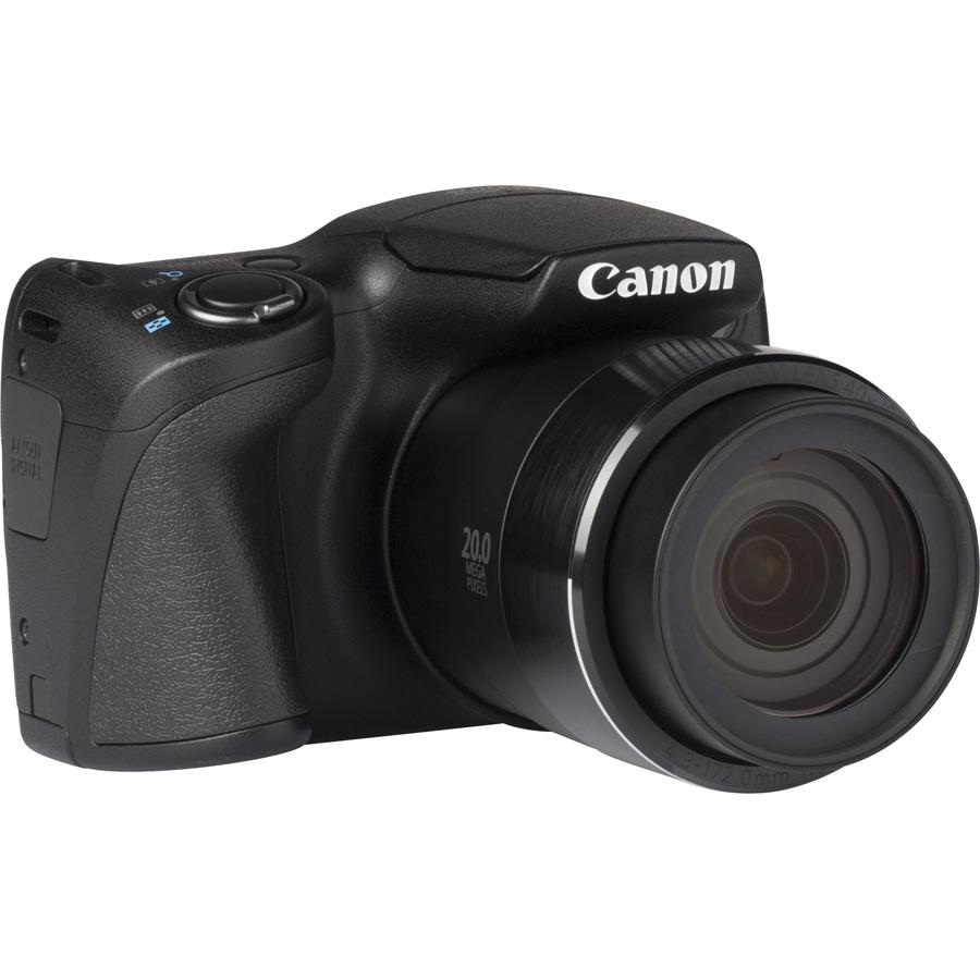 Canon PowerShot SX410 IS - Vue de 3/4 vers la droite