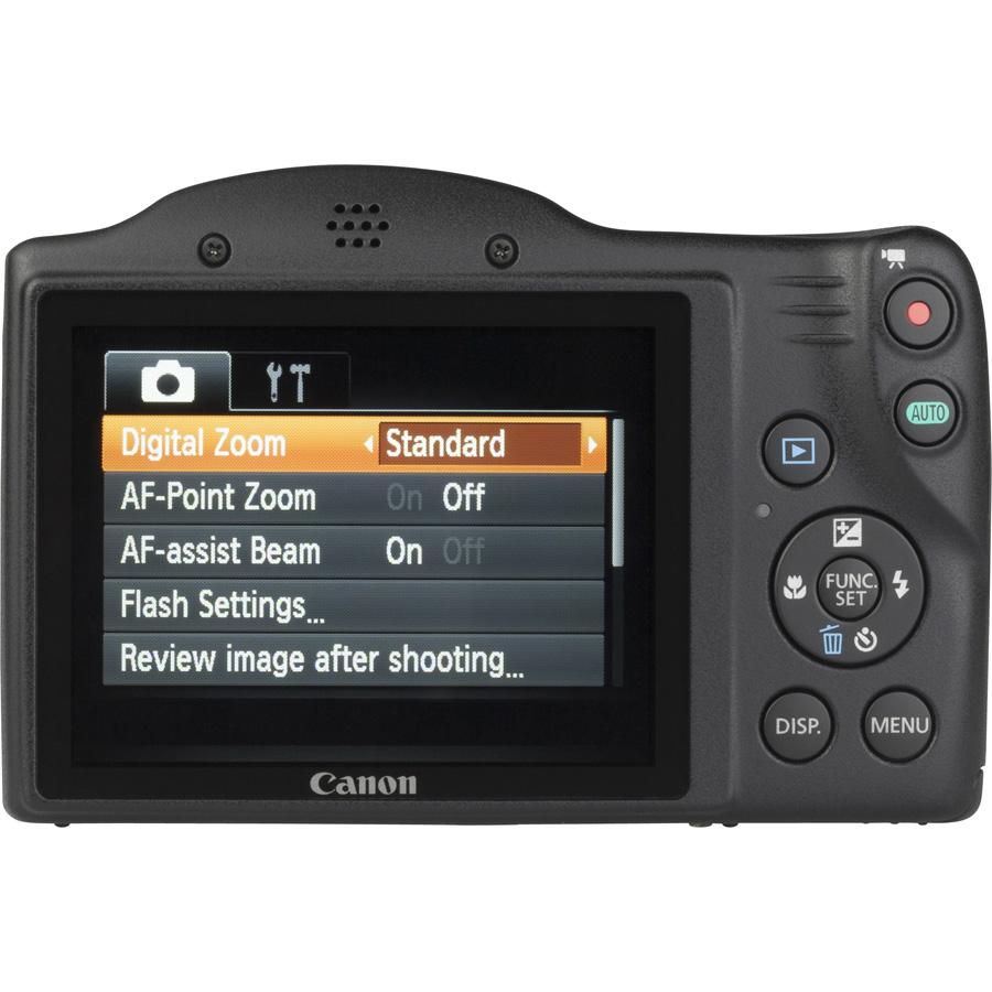 Canon PowerShot SX410 IS - Vue de dos