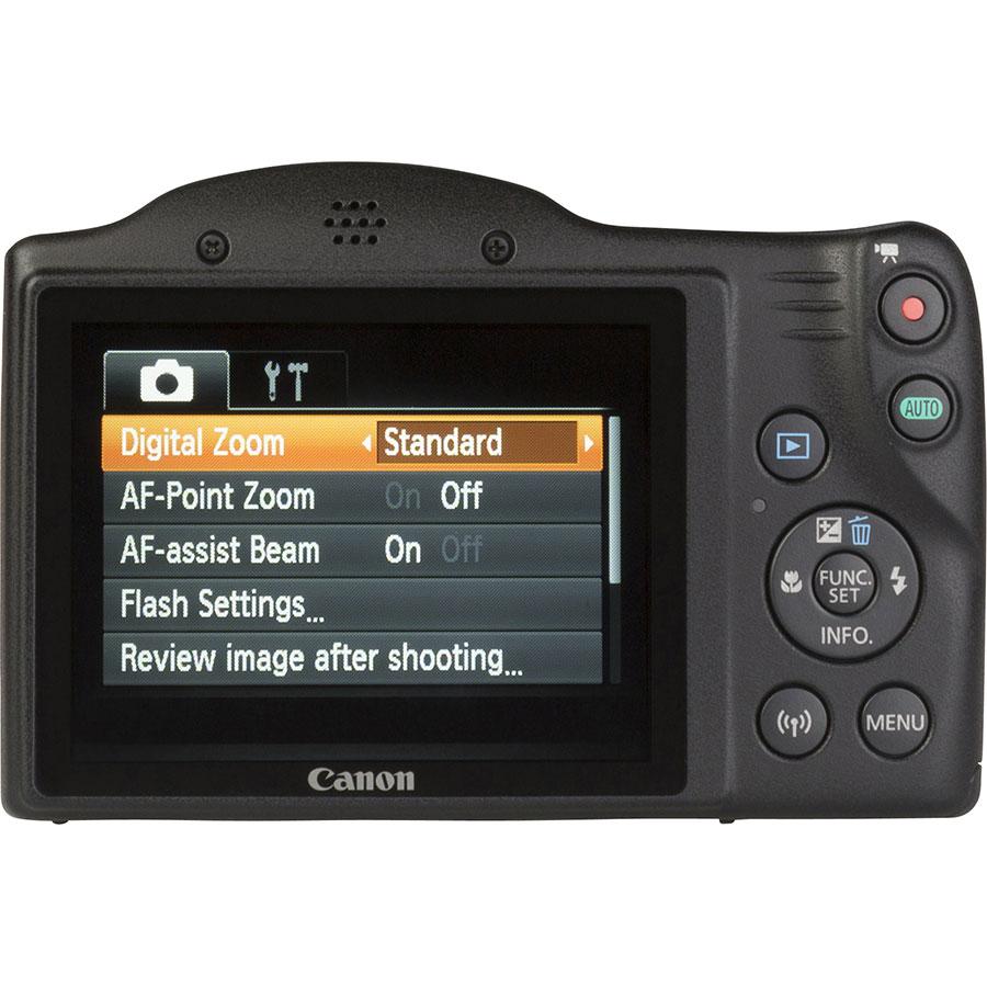 Canon PowerShot SX420 IS - Vue de 3/4 vers la droite