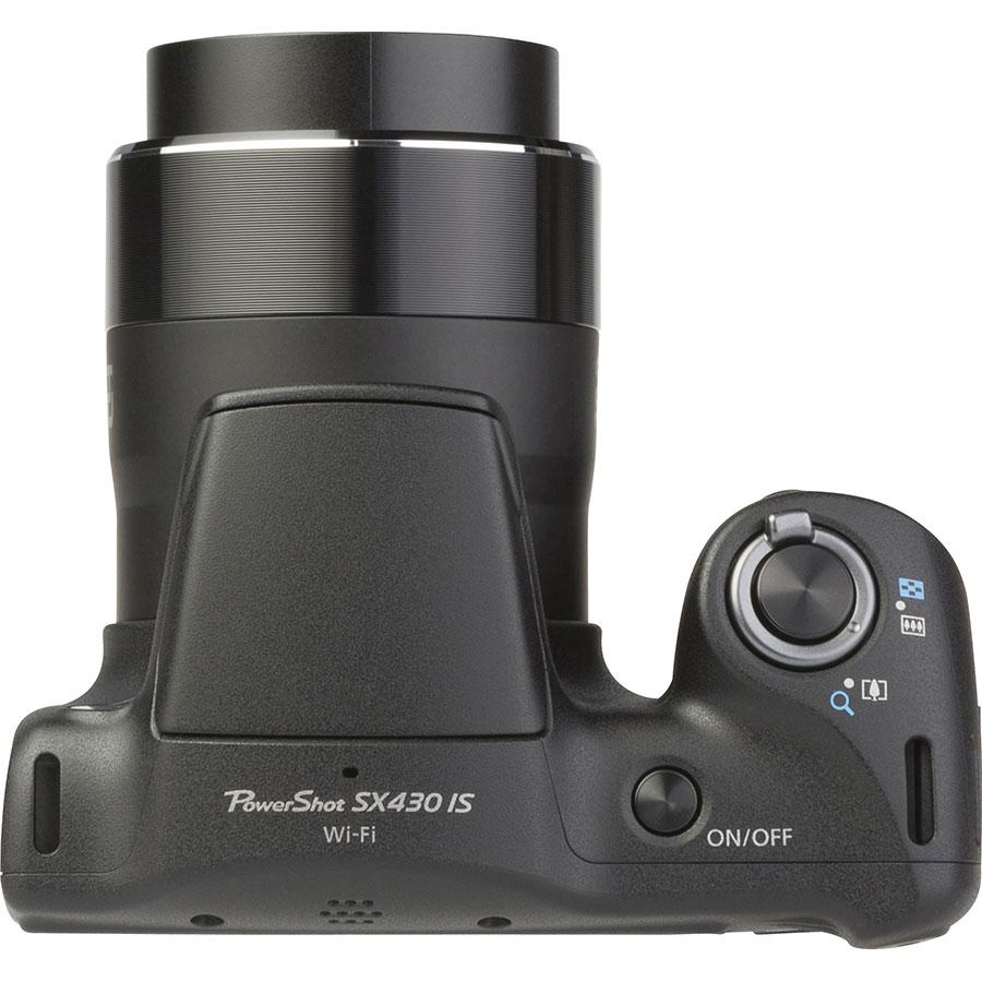 Canon PowerShot SX430 IS - Vue du dessus