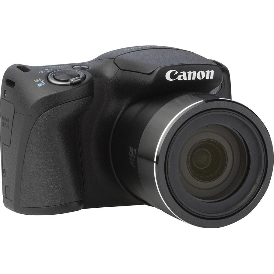 Canon PowerShot SX430 IS - Vue de 3/4 vers la droite
