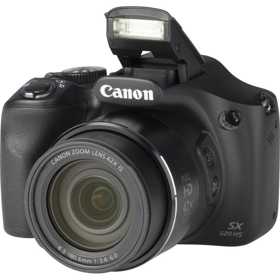 Canon PowerShot SX520 HS - Vue principale