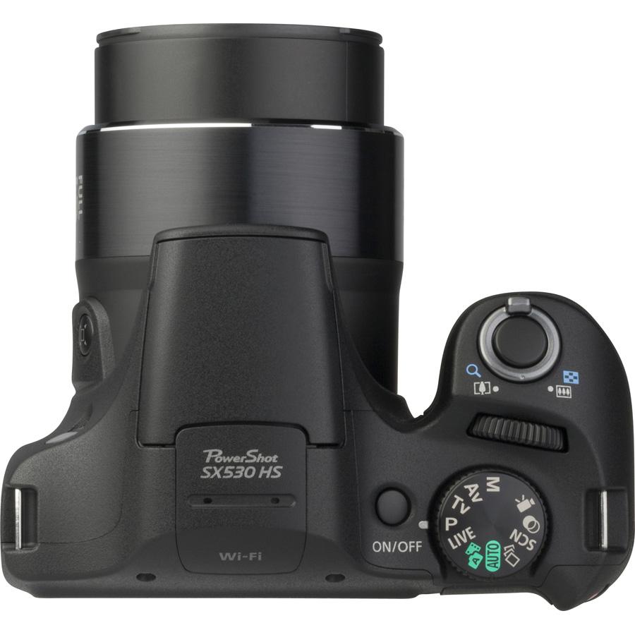 Canon PowerShot SX530 HS - Vue de 3/4 vers la droite