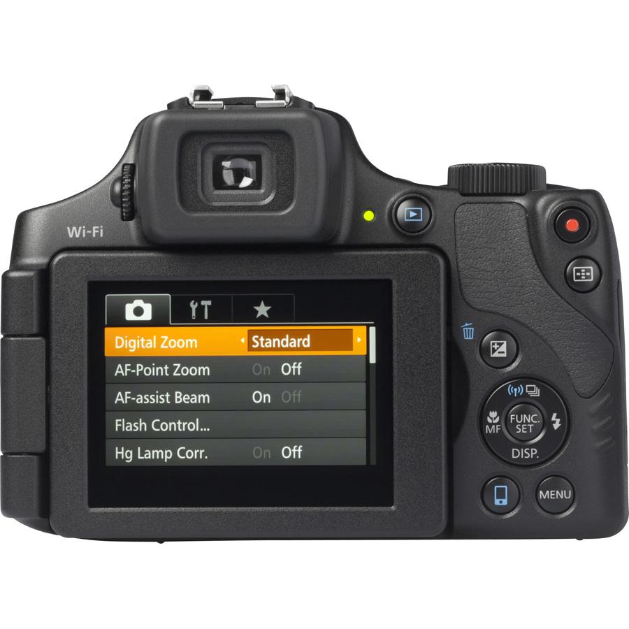 Canon PowerShot SX60 HS - Vue de dos