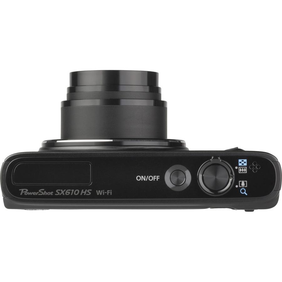 Canon PowerShot SX610 HS - Vue du dessus