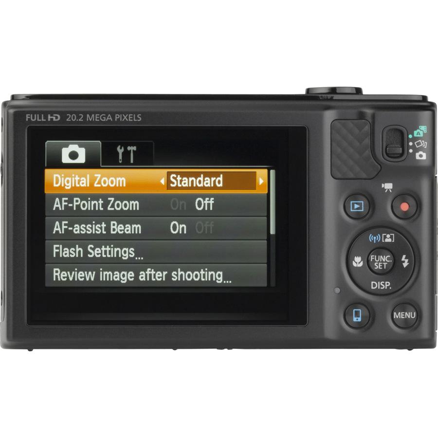 Canon PowerShot SX610 HS - Vue de dos