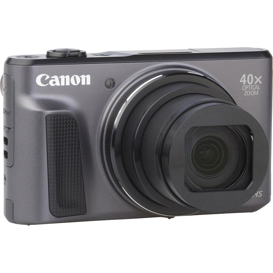 Test Canon Powershot Sx720 Hs Noir Ausreise Info Digital Camera Vue De Dos
