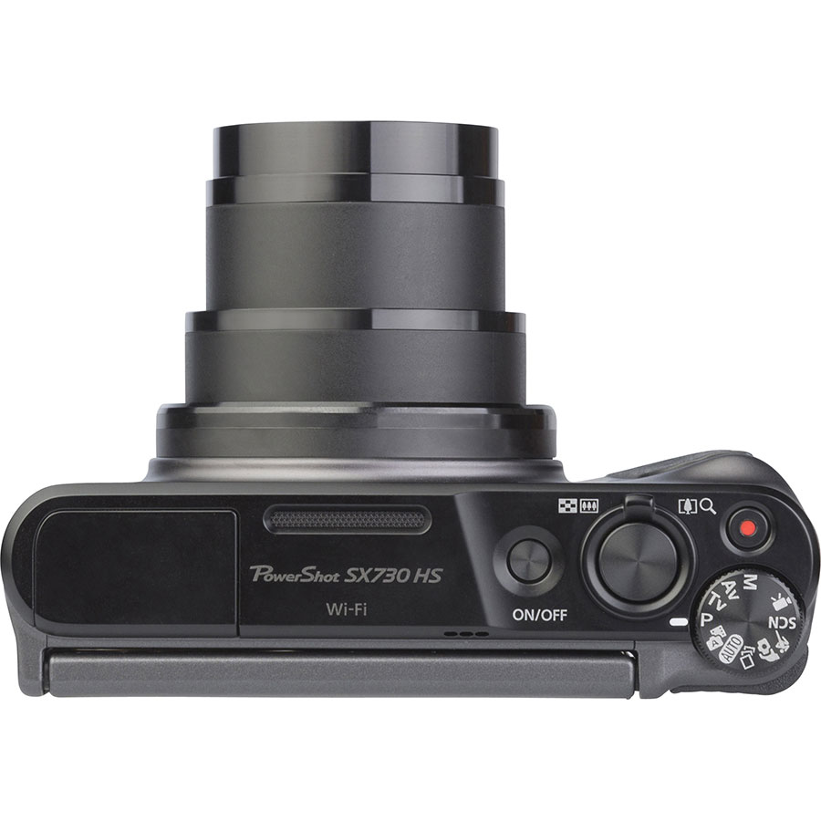 Canon Powershot SX730 HS - Vue du dessus