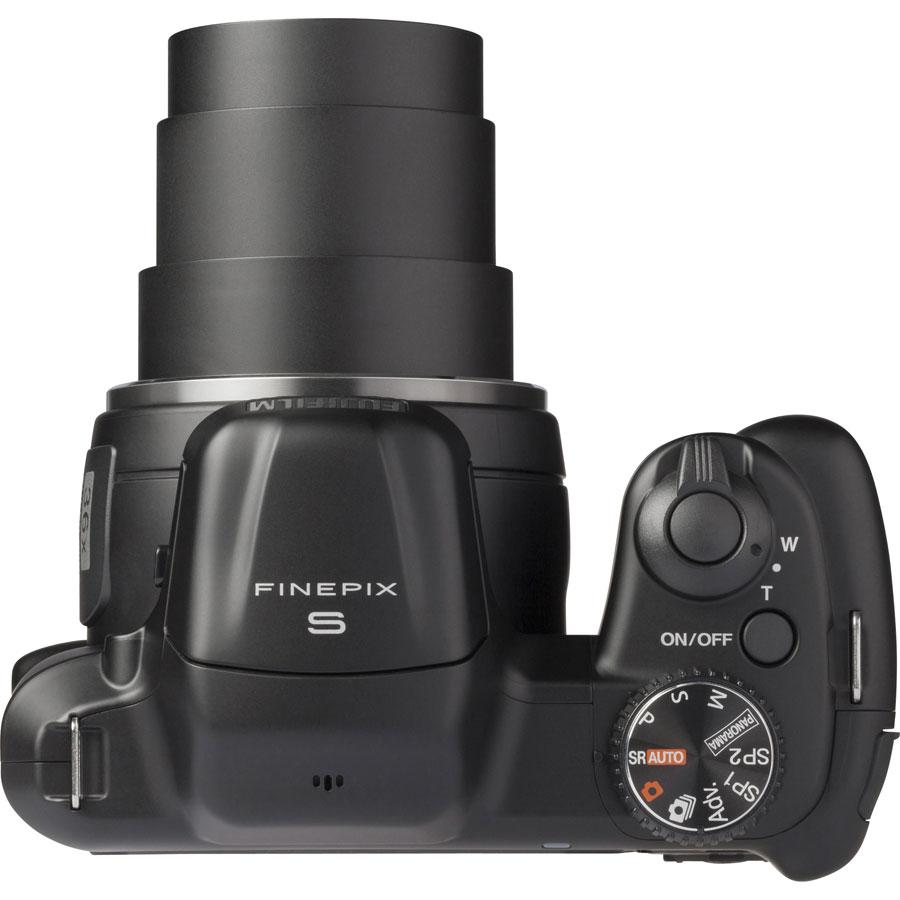 Fujifilm FinePix S8600 - Vue du dessus