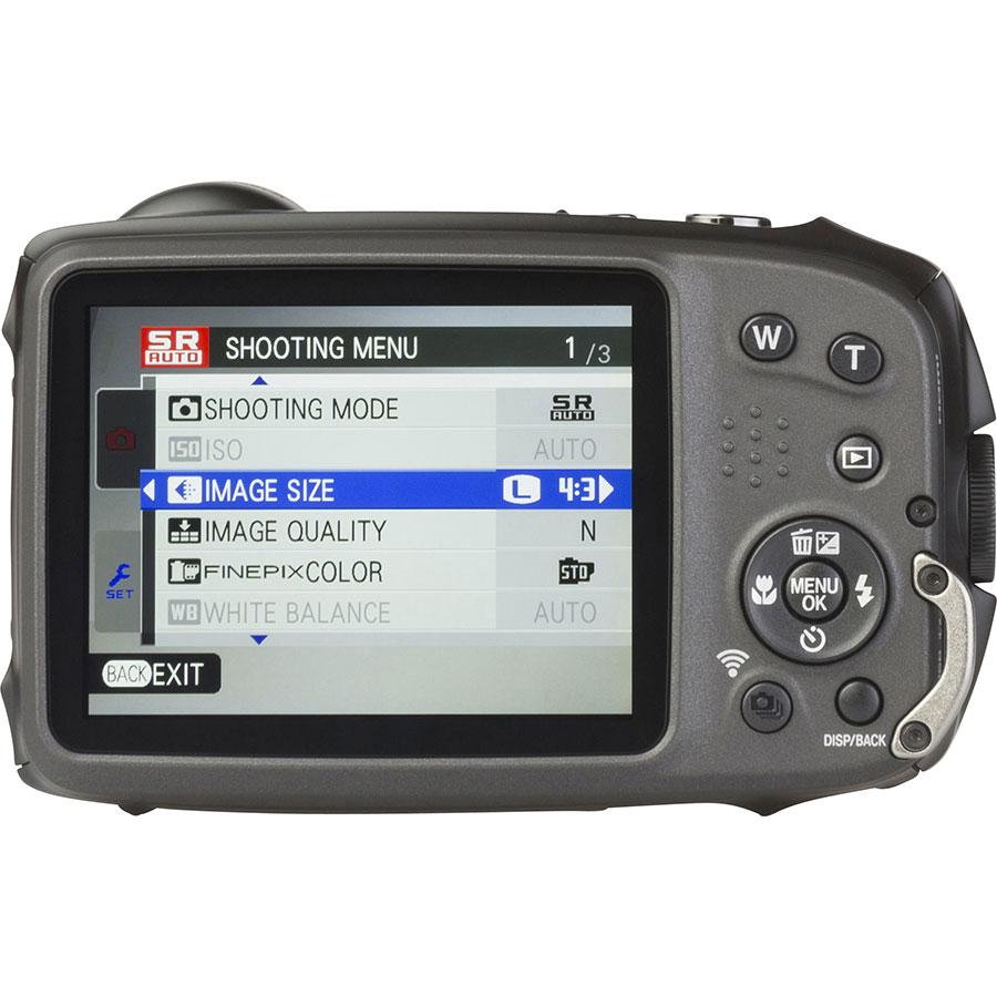 Fujifilm FinePix XP120 - Vue de dos